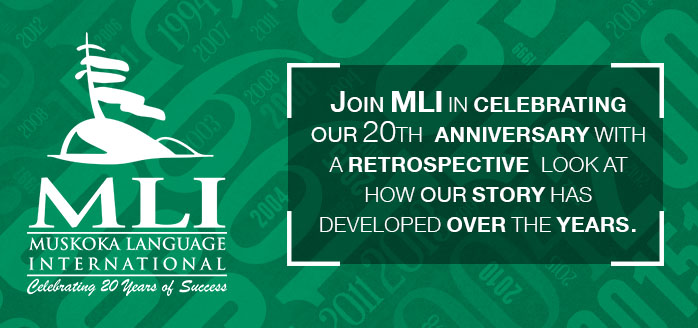 MLI 20th anniversary booklet banner