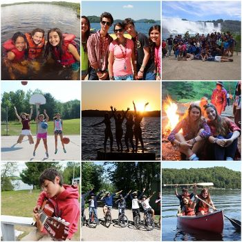 international students enjoying at swallowdale in canada