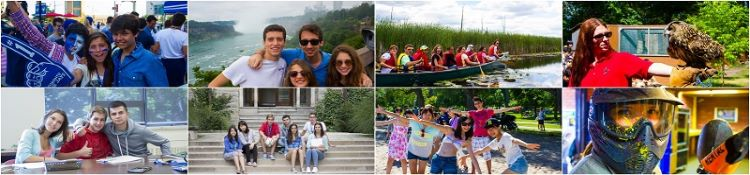 international students enjoying summercamp at torinity in canada