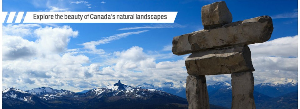explore the beauty of Canada's natural landscapes